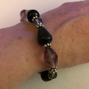 Lia Sophia Stretch Beaded Bracelet